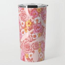 Weapon Floral Travel Mug