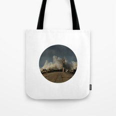 Dark Swell Tote Bag