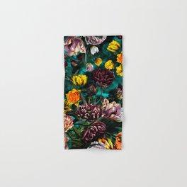 Botanical Multicolor Garden Hand & Bath Towel