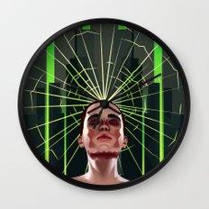 Shattered Dreams Wall Clock