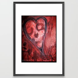 Tales Of A Scorched Earth Framed Art Print