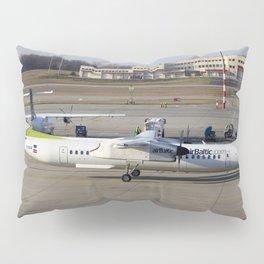 Air Baltic Bombardier Dash 8 Q400 Pillow Sham