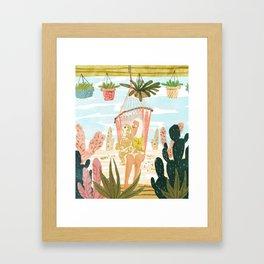 Desert Home Framed Art Print