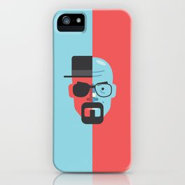 Walter White + Heisenberg iPhone Case
