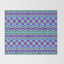 Feathery Tie Dye Throw Blanket