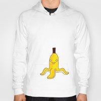 banana Hoodies featuring Banana    by simon oxley idokungfoo.com