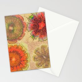 Nonpacificatory Structure Flowers  ID:16165-075207-87310 Stationery Cards