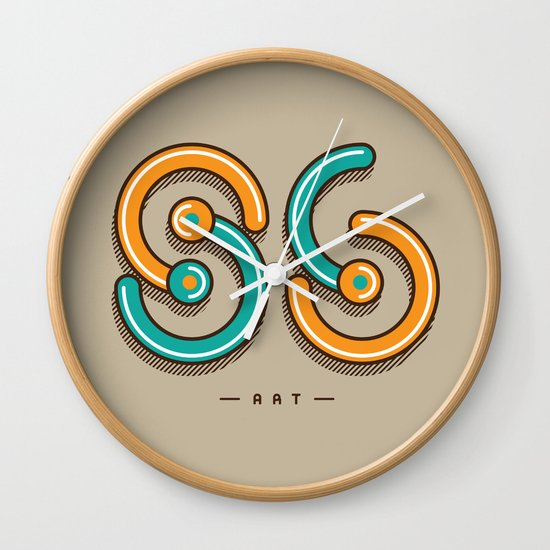 S6 ART Wall Clock