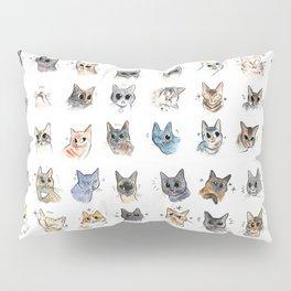 50 cat bleps! Pillow Sham