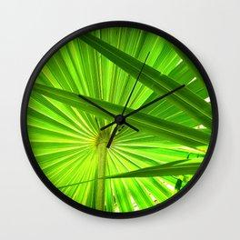 French Riviera Shade Wall Clock
