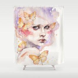 All A Flutter Shower Curtain