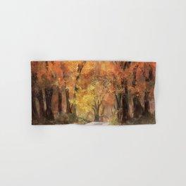 Autumn's Glow Hand & Bath Towel