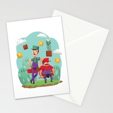 Mario and Luigi! Stationery Cards