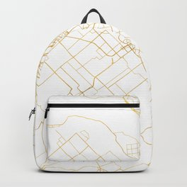 OTTAWA CANADA CITY STREET MAP ART Backpack