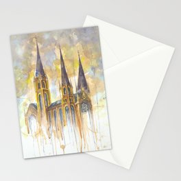 Lviv color Stationery Cards