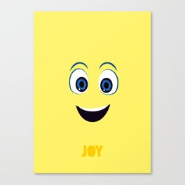 Inside Out Of Joy Canvas Print
