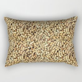 Wine Corks Rectangular Pillow