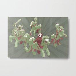 My Little Apocalypse Metal Print