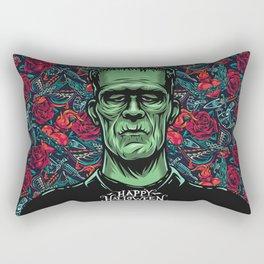 Frankenstein Halloween Party Rectangular Pillow
