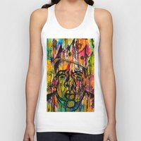 notorious Tank Tops featuring Notorious  by Lauren Mair