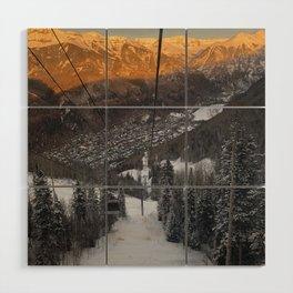 Telluride Colorado Wood Wall Art