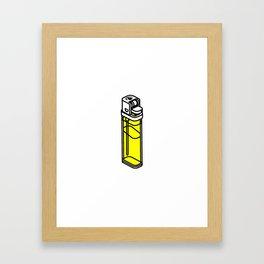 The Best Lighter Framed Art Print