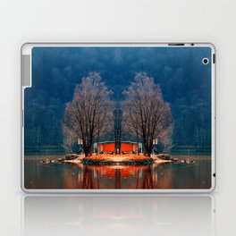 Gone fishing | waterscape photography Laptop & iPad Skin