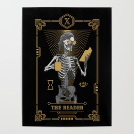 The Reader X Tarot Card Poster