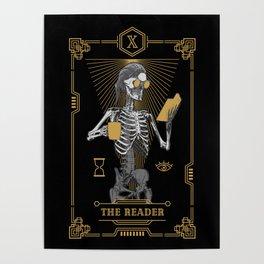 The Reader X Tarot Card Poster