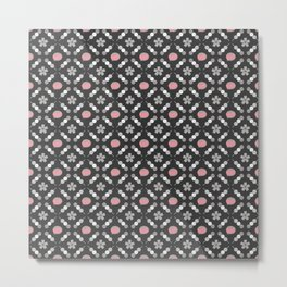 Hanami Nummies | Black Sakura Metal Print