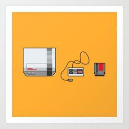 #38 Nintendo Entertainment System Art Print