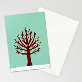 Christmas tree Stationery Cards