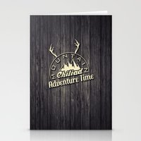 gta Stationery Cards featuring GTA V Mountain Chiliad by Spyck