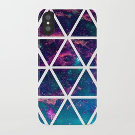GALAXY TRIANGLES iPhone Case