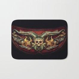 Skull And Beasts Bath Mat