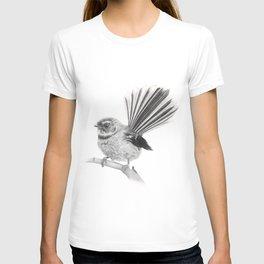 Piwakawaka   NZ Fantail T-shirt