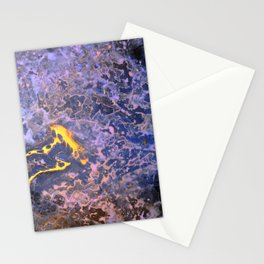 Gold Rush Stationery Cards