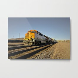 Heading East thro Barstow  Metal Print