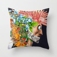 Art and Nightlife Throw Pillow