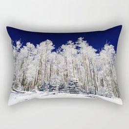 Winter Aspens Rectangular Pillow