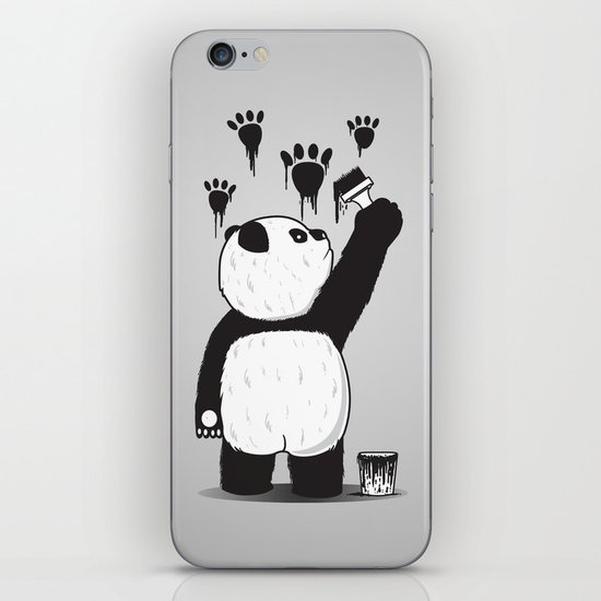 Pandalism iPhone & iPod Skin