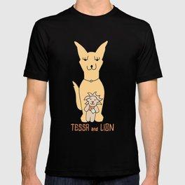 Tessa and Lion T-shirt