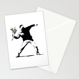 Flower Thrower Stationery Cards