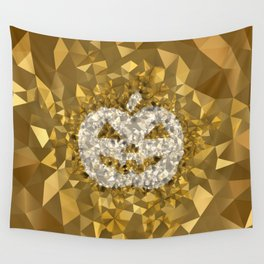 POLYNOID Pumpkin / Gold Edition Wall Tapestry