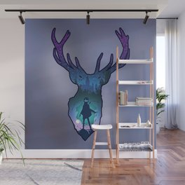 POTTER - PATRONUS ARTISTIC PAINT Wall Mural