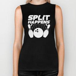 Split Happens Bowling Ball Bowling Lover Bowling Game Design Biker Tank