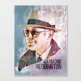Raymond Reddington - Poster Canvas Print