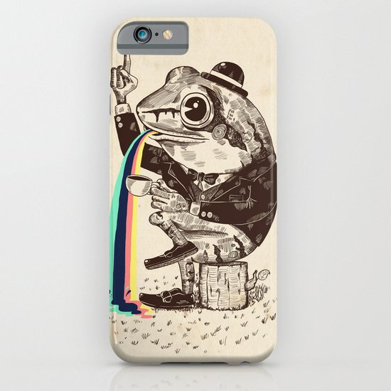 Strange Frog iPhone & iPod Case