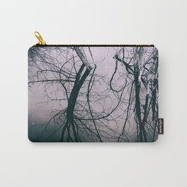 Tree in Cloud Reflection Carry-All Pouch