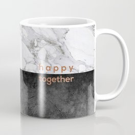 Happy Together Copper Coffee Mug
